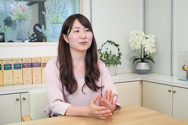 先輩の声 上野 亜美さんのインタビュー2