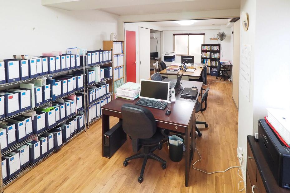 業務効率化を優先したオフィスレイアウト